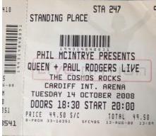 queen ticket