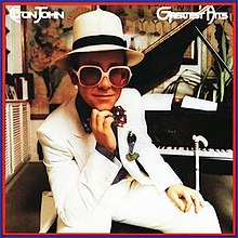 elton john;s greatest hits album cover